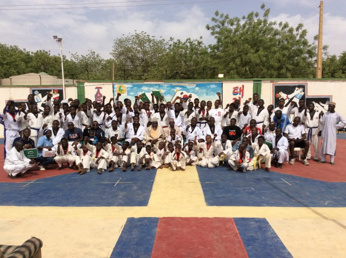 "Group Picture of Participants at the ""Inspire the Zones"" Campaign"