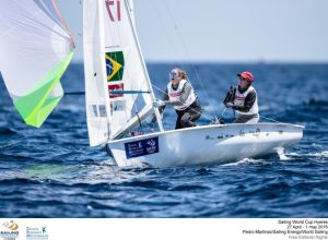 Hyères, France will welcome 574 sailors from 47 nations from Wednesday 27 April through to 1 May for the 2016 edition of Sailing World Cup Hyères.  ©Pedro Martinez/Sailing Energy/World Sailing