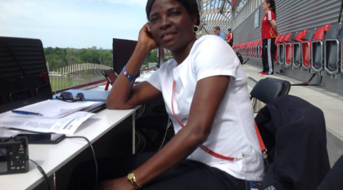 Florence Omagbemi – Super Falcons Coach photo credit: Florence Omagbemi