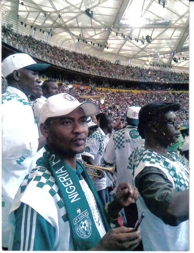 Rev. Sam lkpea, the Secretary - General of the Nigeria Football Supporters Club