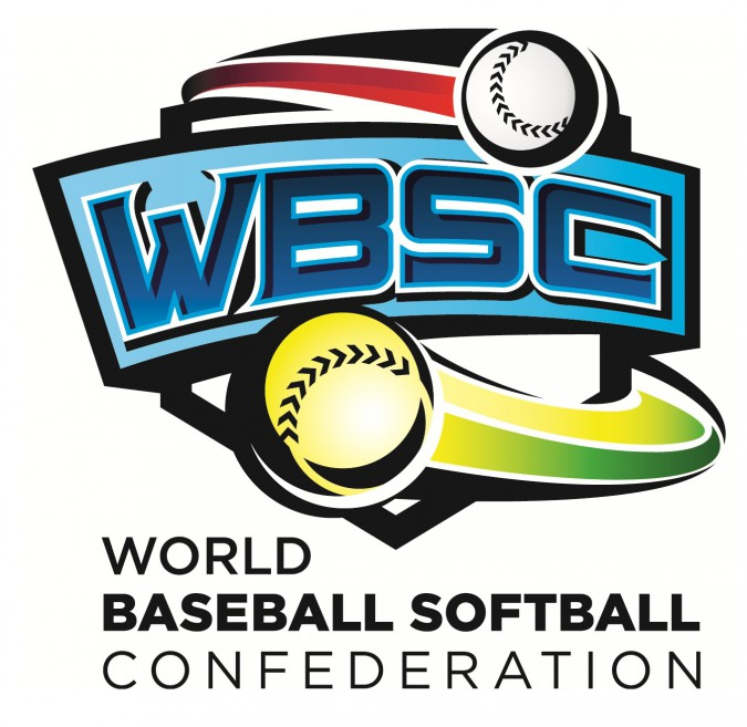 WBSC LOGO, newfanzone World Baseball Softball Confederation, WBSC
