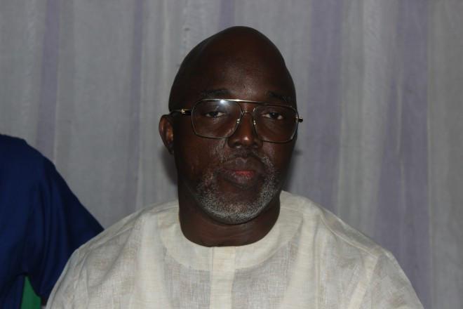 Amaju Melvin Pinnick President NFF