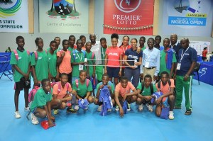 Sarah Hanffou lifts table tennis in Lagos,
