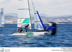 Hyères, France 2016 edition of Sailing World Cup Hyères. ©Pedro Martinez/Sailing Energy/World Sailing
