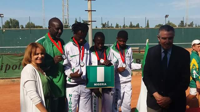 Image result for AJC Tennis: Igbinovia make Team Nigeria's final list