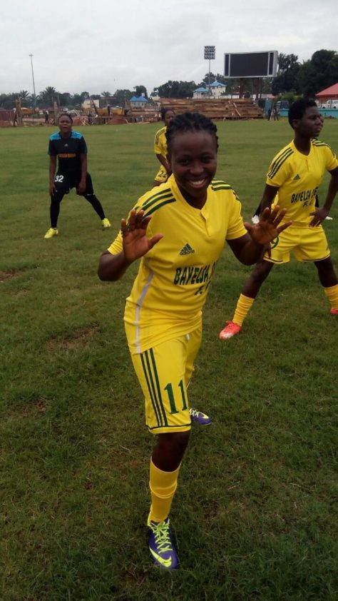 Patience Kalu wins NWPL FutbolGalore.Com June Player Of The Month award