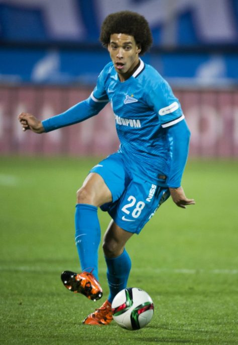 Axel Witsel photo credit: Вячеслав Евдокимов - fc-zenit.ru https://creativecommons.org/licenses/by-sa/3.0/legalcode