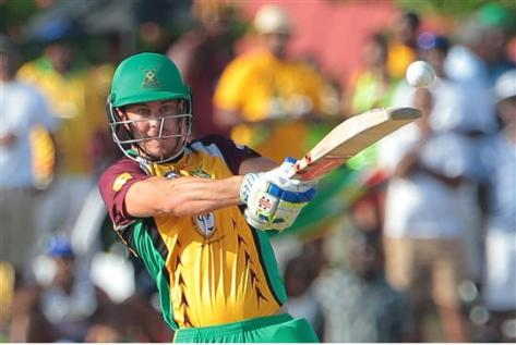 Guyana Amazon Warriors Chris Lynn during the Hero Caribbean Premier League (CPL) Match 28 between Barbados Tridents and Guyana Amazon Warriors at Central Broward Stadium in Fort Lauderdale, Florida, USA. Photo by Ashley Allen/Sportsfile