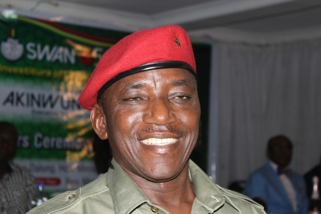 Honourable Minister For Youths And Sports Solomon Dalung