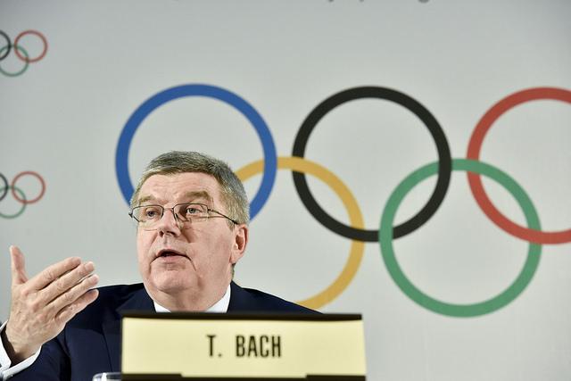 IOC President Thomas Bach Copyright / IOC/C.Moratal, olympic