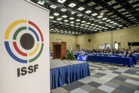 MOSCOW - JULY 1: the ISSF General Assembly at the Crown Plaza Hotel of Moscow on July 1, 2016 in Moscow, Russia. (Photo by Nicolo Zangirolami)