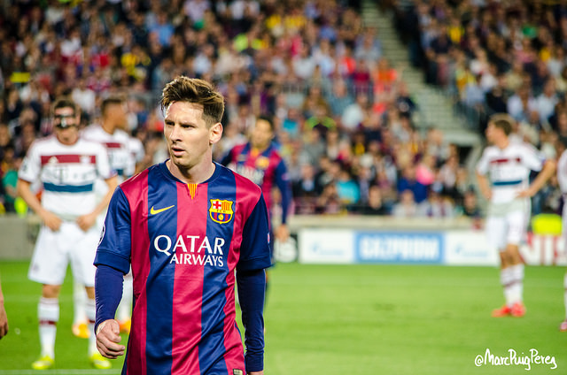 Lionel Messi photo credit: Marc Puig i Perez https://creativecommons.org/licenses/by-nc-nd/2.0/legalcode