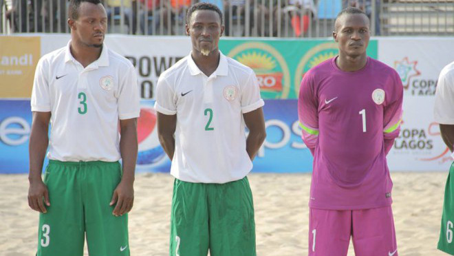 Host team the Super sand Eagles At Copa Lagos 2015