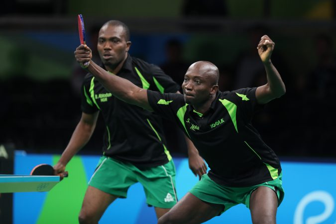 Nttf plans celebration for legend toriola newfanzone - African table tennis federation ...