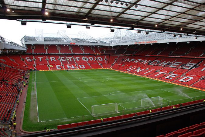 Old Trafford photo credit: Abhijit Tembhekar https://creativecommons.org/licenses/by/2.0/legalcode