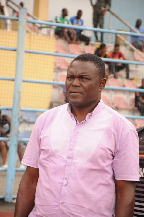 Rivers United technical manager, Stanley Eguma