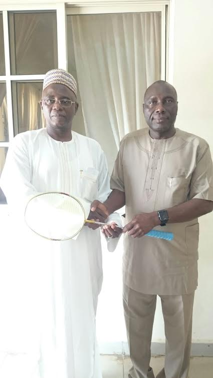 Ex FCT Sports Director, Sani Lulu Drums Support For Badminton, Nigeria