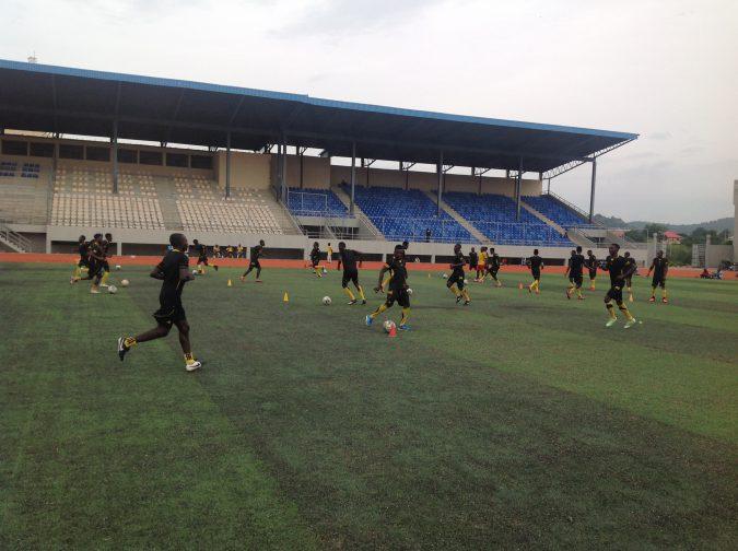 Kogi United training