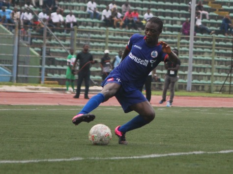 Rivers United's Guy Kuemian