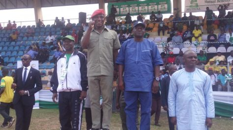 Dalung Opens 2016 Nigeria National Youth Games At Ilorin