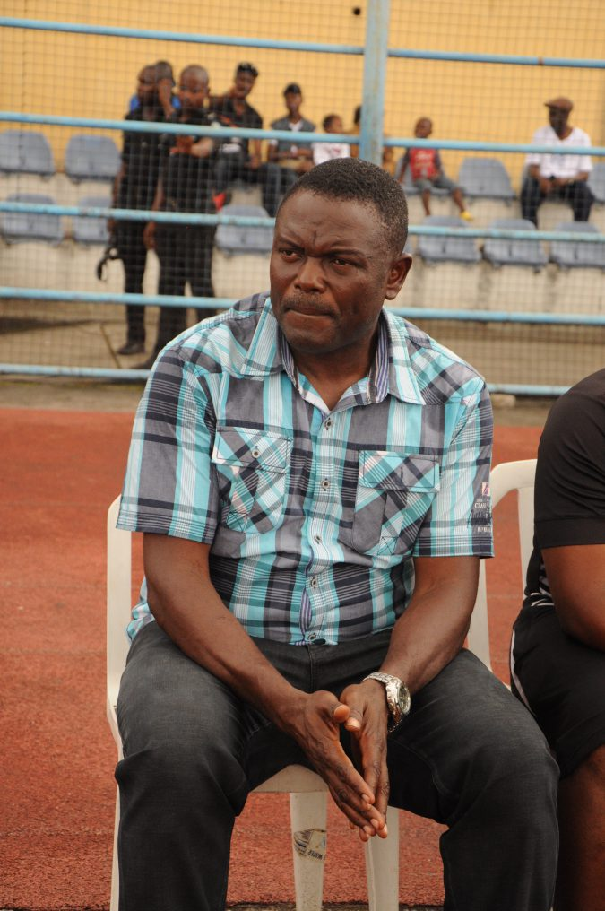 Technical manager of Rivers United FC, Stanley Eguma