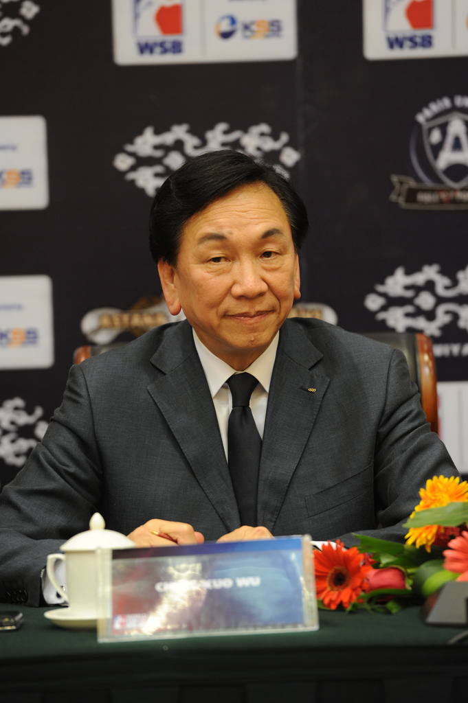 AIBA President Dr Ching-Kuo Wu