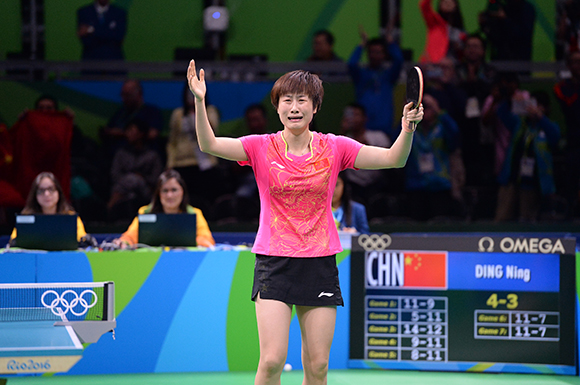 Rio 2016 Olympic Champion Ding Ning regains top spot on the ITTF World Rankings.