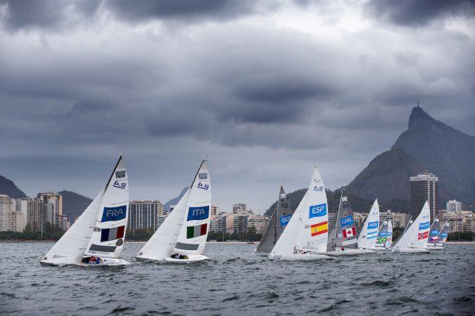 2.4 Norlin OD sailing at the Rio 2016 Paralympic Games.
