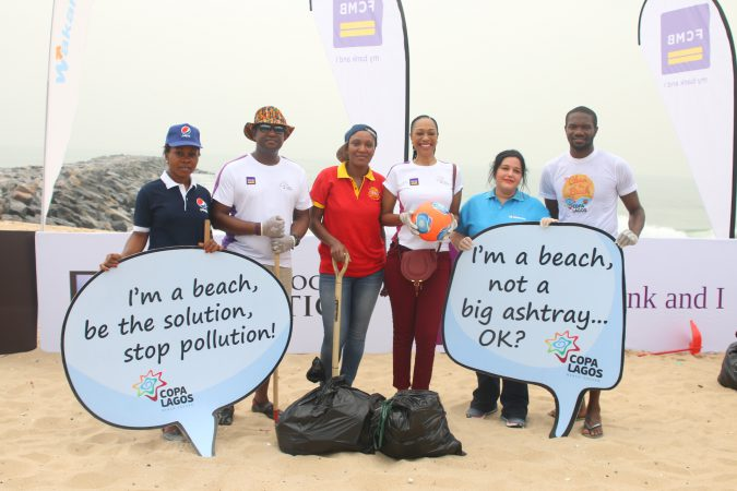 copa-lagos-promotes-tourism-with-beach-clean-up