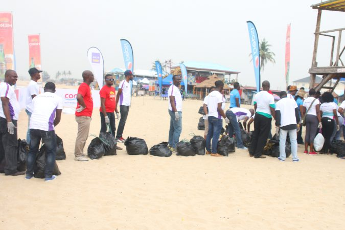COPA Lagos Promotes Tourism with Beach Clean up