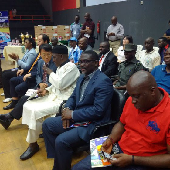 george-ashiru, NTF, Nigeria Taekwondo Federation at 30, George Ashiru