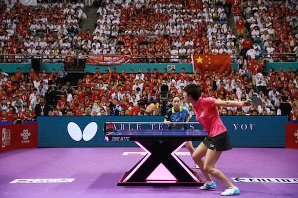 ITTF will take back all the rights in house in 2017.