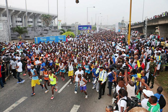 Access bank Lagos City Marathon photo credit: Lagos City Marathon