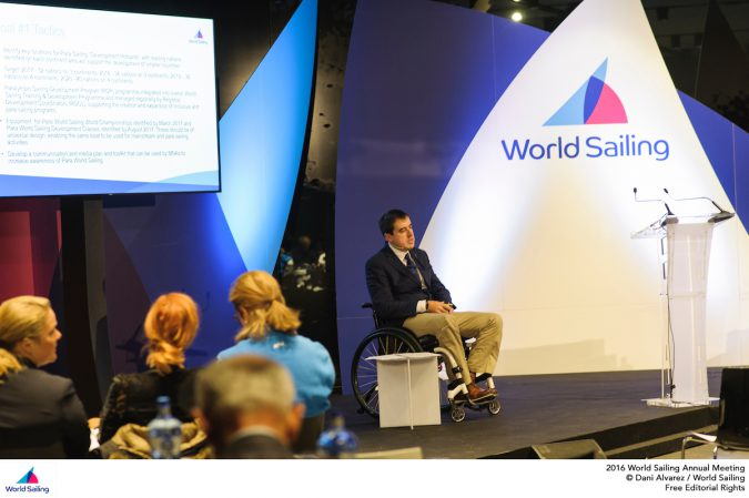 Massimo Dighe presents the Para World Sailing Strategy