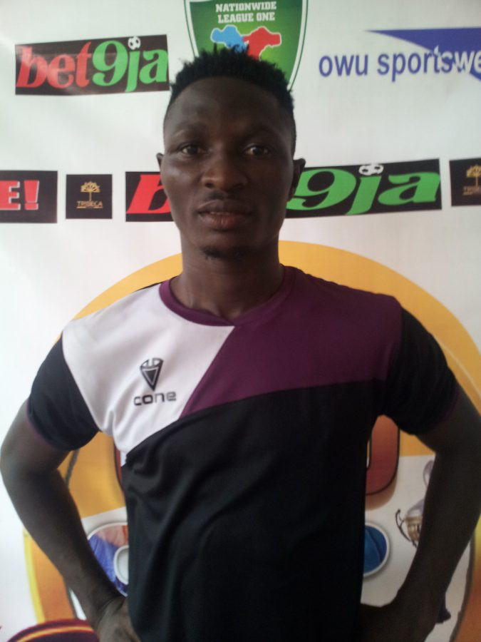 Mountain of Fire and Miracles Ministries FC skillful winger, Sikiru Olatunbosun