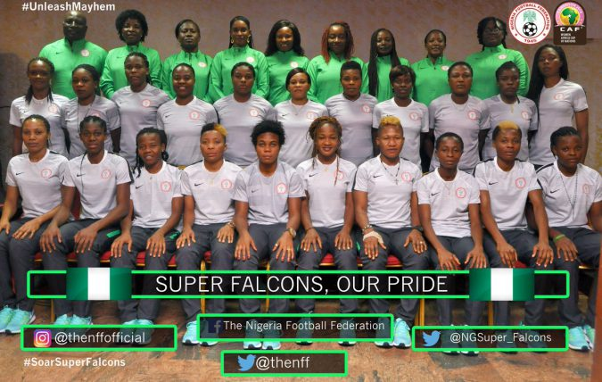 Nigeria Super Falcons photo credit: @NGSuper_Falcons