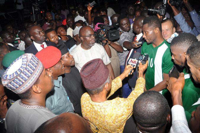 osinbajo-mikel, Super Eagles, Nigeria Football, NFF