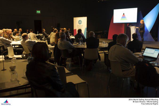 Para World Sailing Forum audience