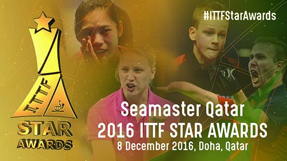 2016 Male & Female Para Table Tennis Star Nominees Announced, ITTF