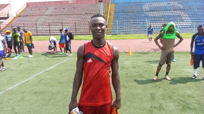 Rivers United's Bernard Ovoke