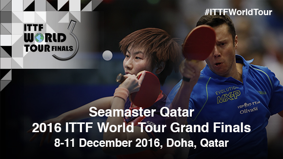 Seamaster joins forces with Qatar to title sponsor end of year ITTF events.