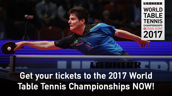2017 World Table Tennis Championships Launches Website and Opens Ticket Sales