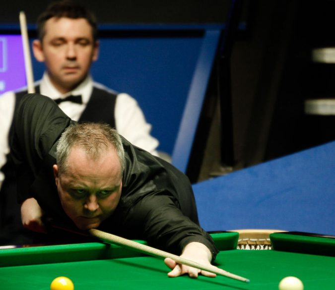Higgins and McManus met in the World Championship quarter-finals earlier this year.jpg