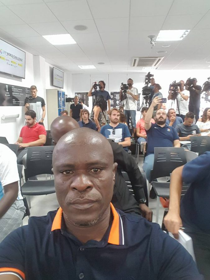 General Manager of Nigeria Professional Football League (NPFL) club, Rivers United Chief Okey Kpalukwu