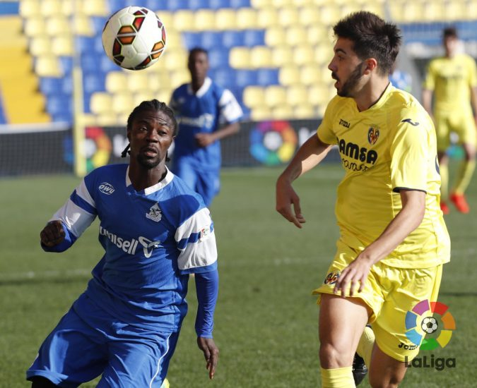 Guy Kuemian In Action against Villarreal B