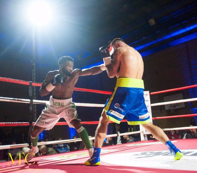Larry 'The Natural' Ekundayo Makes  Triumphant Return To The Ring