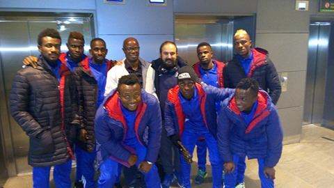 Rivers United Arrive In Madrid For Pre-Season