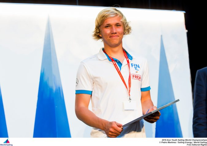 Martin Mikkolla  photo credit: World Sailing