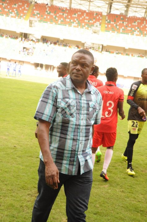 Rivers United's Technical Manager Stanley Eguma