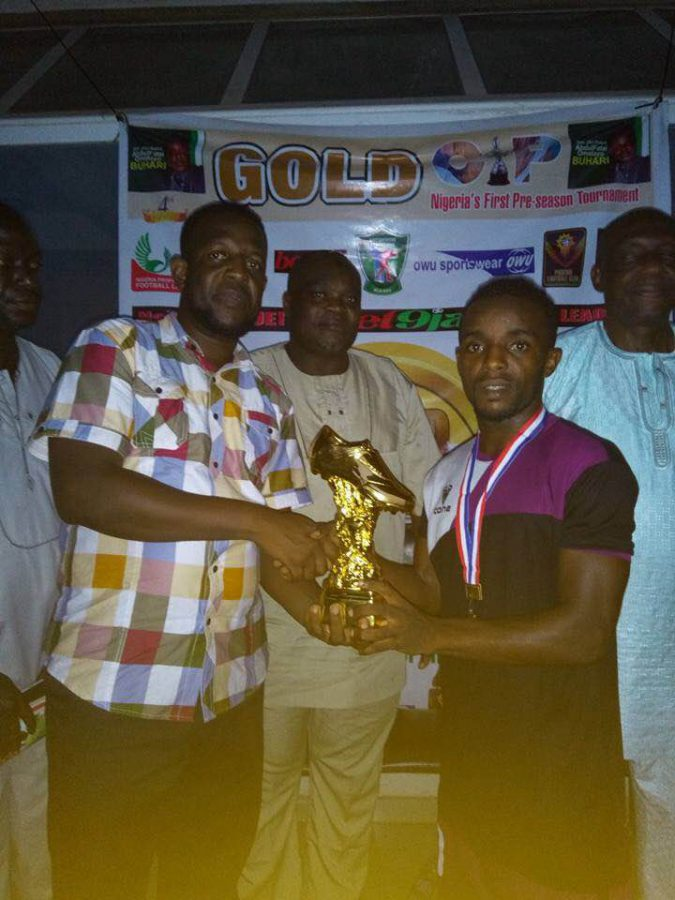 Olatunbosun, Onuwa sweep Gold Cup individual awards